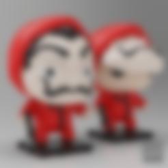 Download free 3D printer files LA CASA DE PAPEL / MONEY HEIST (Netflix Series), purakito