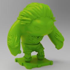 Descargar archivos 3D gratis Street Fighter BLANKA, purakito