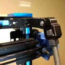 Top.jpg Download free STL file Easy Universal Z-Braces, 5mm Bottom Holder Remix • 3D printer model, jonbourg