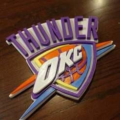 Télécharger modèle 3D gratuit Oklahoma City Thunder Remix en plusieurs parties, jonbourg