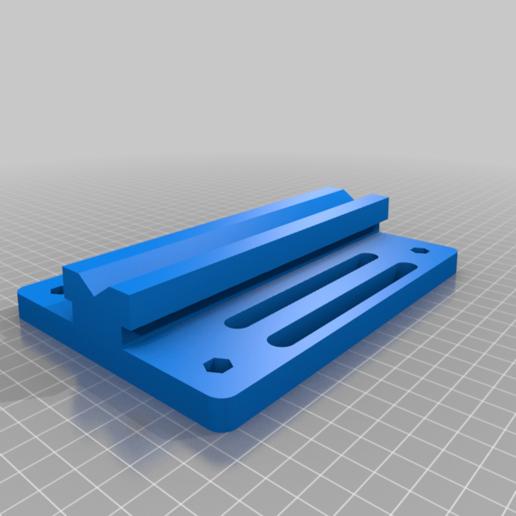 Base_v6.png Télécharger fichier STL gratuit Porte-bobine à centre ajustable • Design pour imprimante 3D, jonbourg