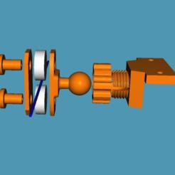 Télécharger fichier GCODE gratuit Guide filamentaire à double roulement à billes avec bille et douille • Design pour impression 3D, jonbourg