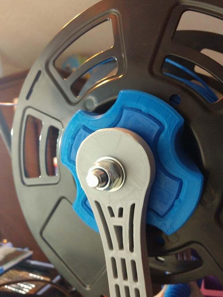 IMG_20190304_114831599.jpg Télécharger fichier STL gratuit Porte-bobine à centre ajustable • Design pour imprimante 3D, jonbourg