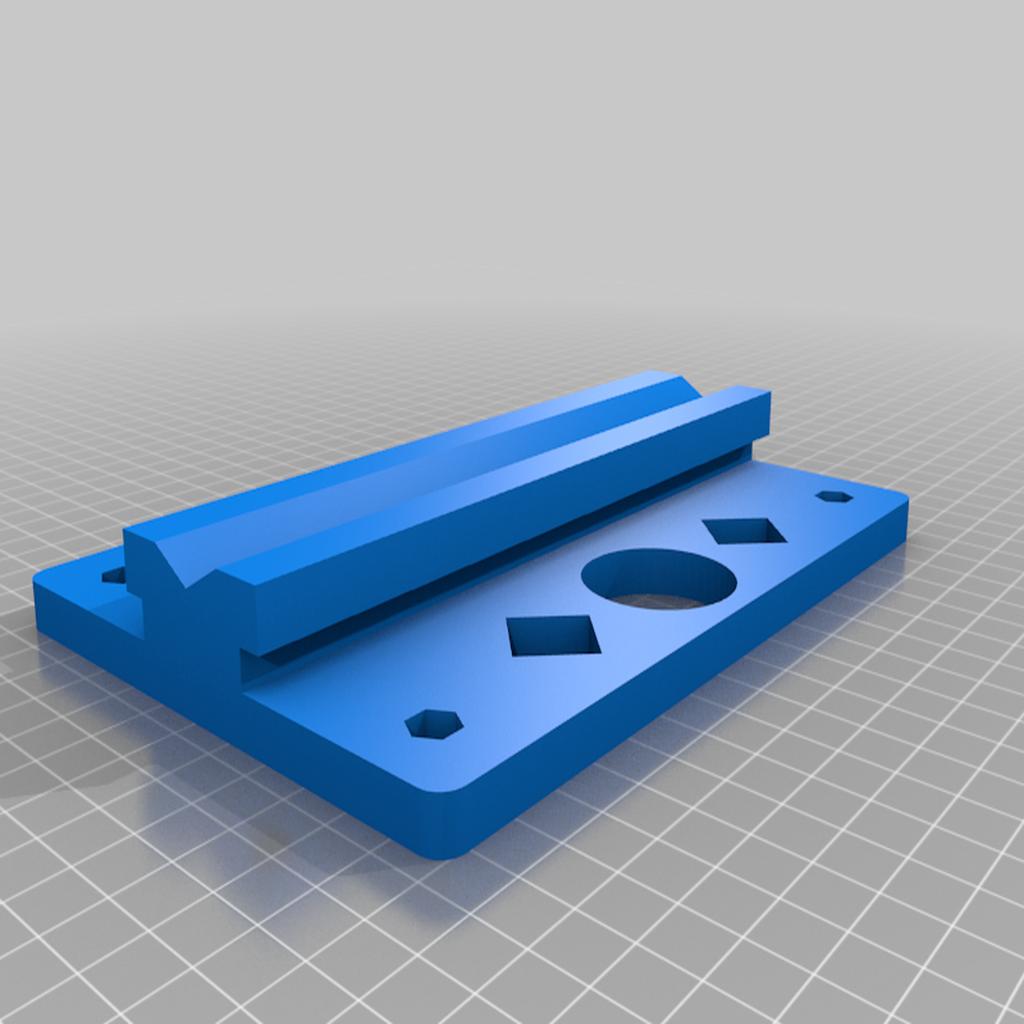 Base_v1.png Télécharger fichier STL gratuit Porte-bobine à centre ajustable • Design pour imprimante 3D, jonbourg