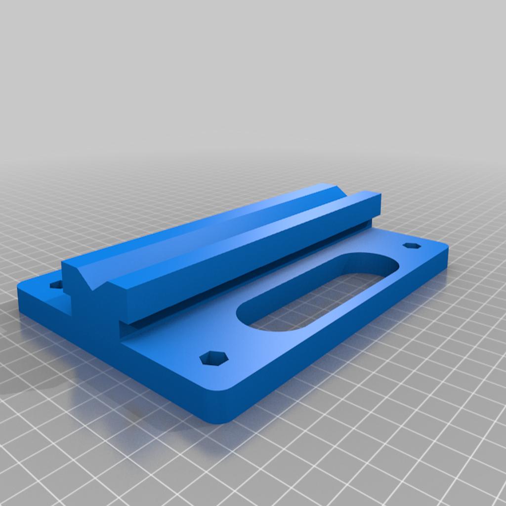 Base_v4.png Télécharger fichier STL gratuit Porte-bobine à centre ajustable • Design pour imprimante 3D, jonbourg