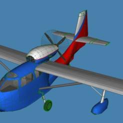 Descargar archivos 3D gratis República RC-3 Seabee, jonbourg