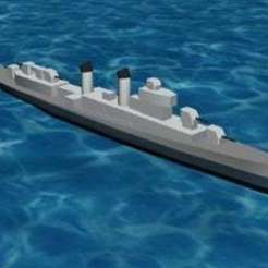 Télécharger fichier impression 3D gratuit L'USS Kidd DD661, jonbourg