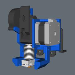 Descargar modelos 3D gratis Configuración de BMG y E3D V6 para la placa trasera del CCTree de 4 ruedas - Remezclar, jonbourg