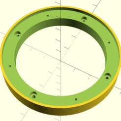 Download free 3D printing models Speaker Spacer Ring Generator, jonbourg