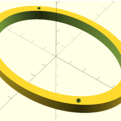 6x9_Spacer.png Download free SCAD file 6x9 Speaker Ring • 3D print template, jonbourg