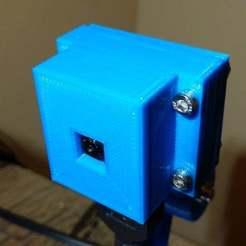 Télécharger STL gratuit Système de montage de caméra Pi pour HDMI, jonbourg