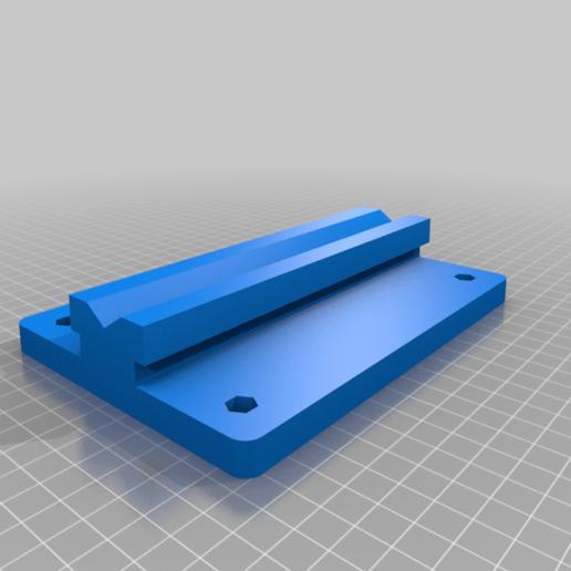 Base_v0.png Télécharger fichier STL gratuit Porte-bobine à centre ajustable • Design pour imprimante 3D, jonbourg