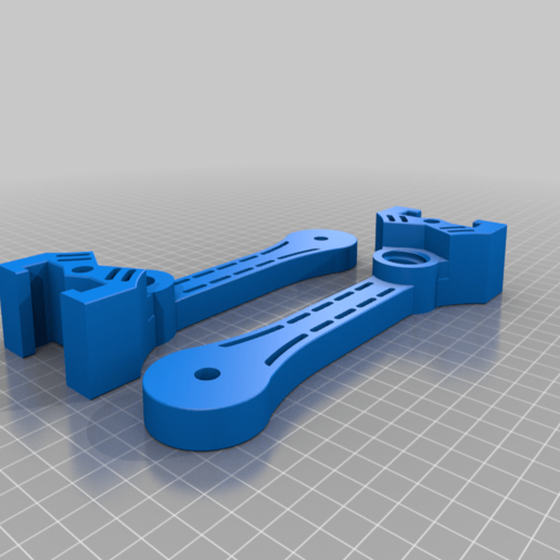 Uprights_v4.png Télécharger fichier STL gratuit Porte-bobine à centre ajustable • Design pour imprimante 3D, jonbourg