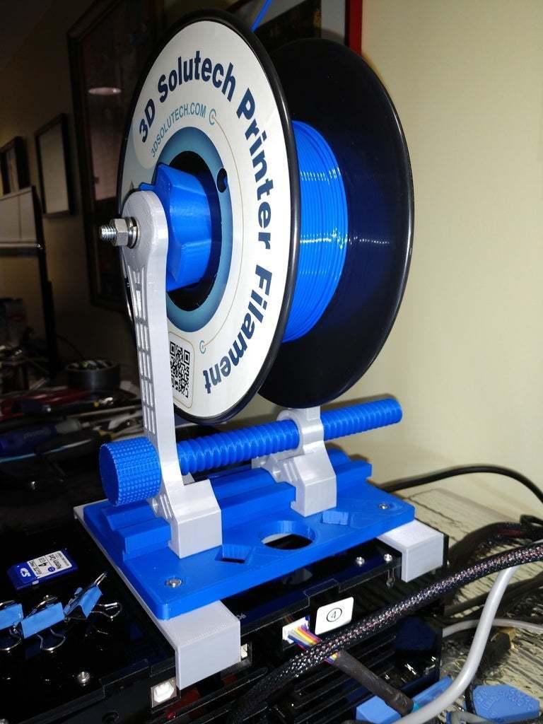 IMG_20181227_161322227.jpg Télécharger fichier STL gratuit Porte-bobine à centre ajustable • Design pour imprimante 3D, jonbourg