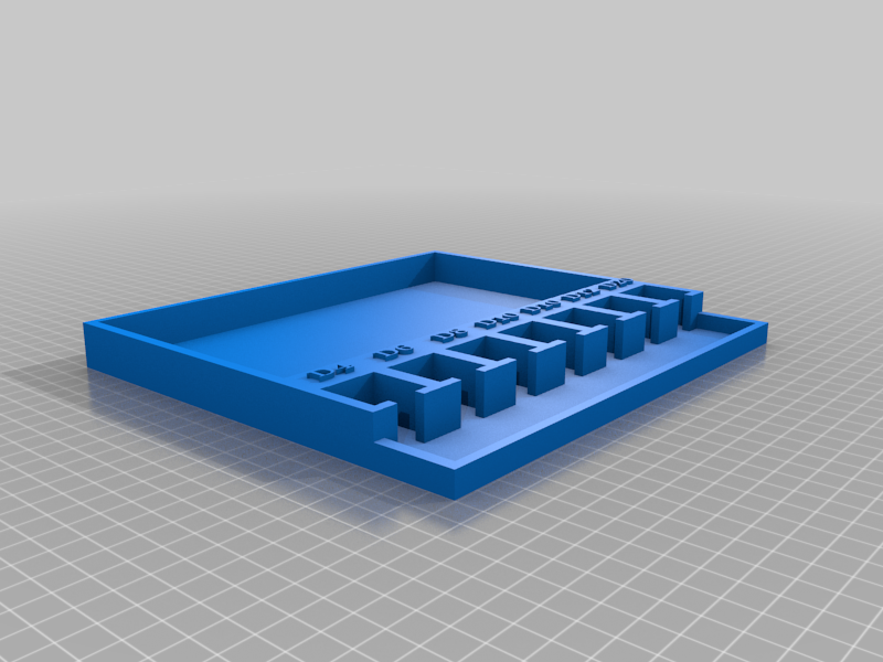 DD_Dice_Tray_Labeled_Remix_v1.png Download free STL file D&D Dice Tray - Labeled Dice Remix • 3D printer template, jonbourg
