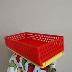Download free 3D printer templates Sliding Spice Rack 150, jonbourg