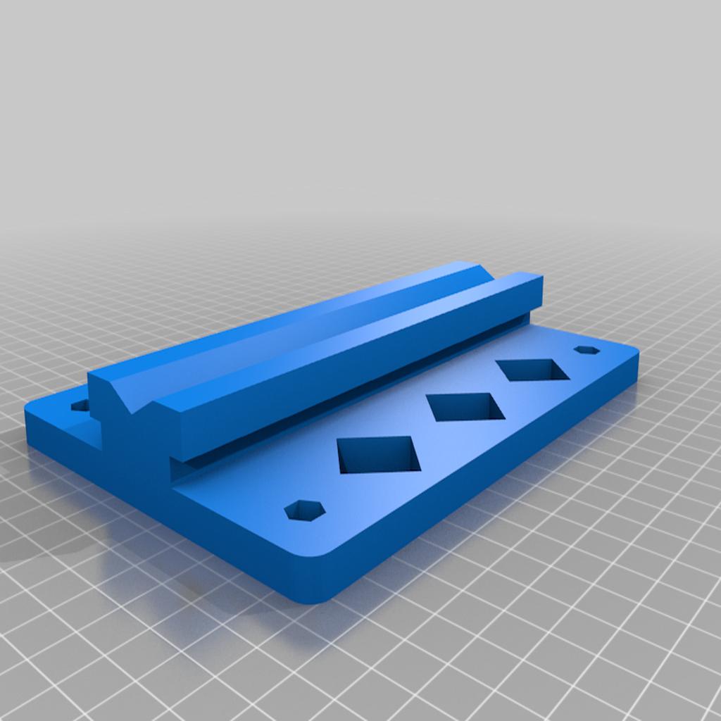 Base_v5.png Télécharger fichier STL gratuit Porte-bobine à centre ajustable • Design pour imprimante 3D, jonbourg