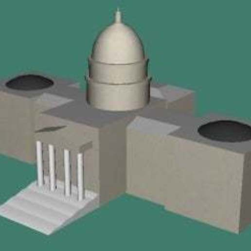 State_Capital_Idaho_thumbnail.jpg Download free STL file Idaho State Capitol • 3D printable object, jonbourg