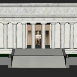 Télécharger plan imprimante 3D gatuit Mémorial Lincoln, jonbourg
