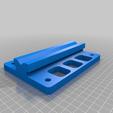 Base_v2.png Télécharger fichier STL gratuit Porte-bobine à centre ajustable • Design pour imprimante 3D, jonbourg