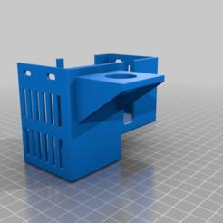 Télécharger fichier STL gratuit Couverture d'une extrudeuse d'adimlab avec support de sonde, jonbourg