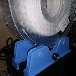 Télécharger plan imprimante 3D gatuit Porte-bobine à roulement à billes Adimlab, jonbourg