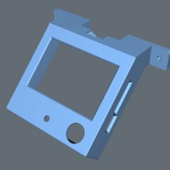 Descargar modelo 3D gratis Montura central de LCD para BTT TFT35 E3 V3, jonbourg