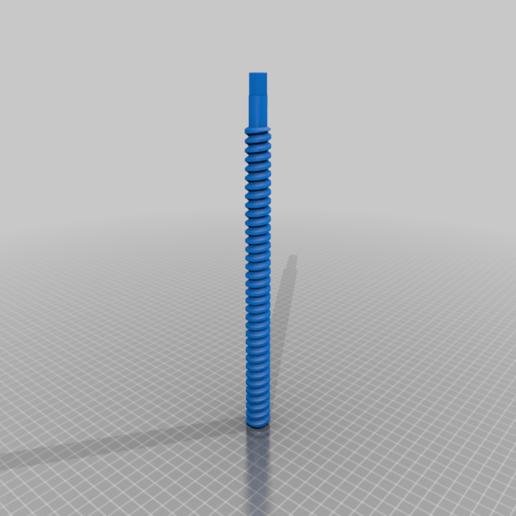 Screw_v4.png Télécharger fichier STL gratuit Porte-bobine à centre ajustable • Design pour imprimante 3D, jonbourg