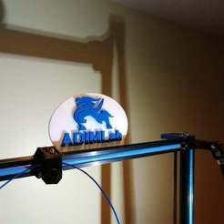 Télécharger objet 3D gratuit Logo de l'imprimante Adimlab, jonbourg