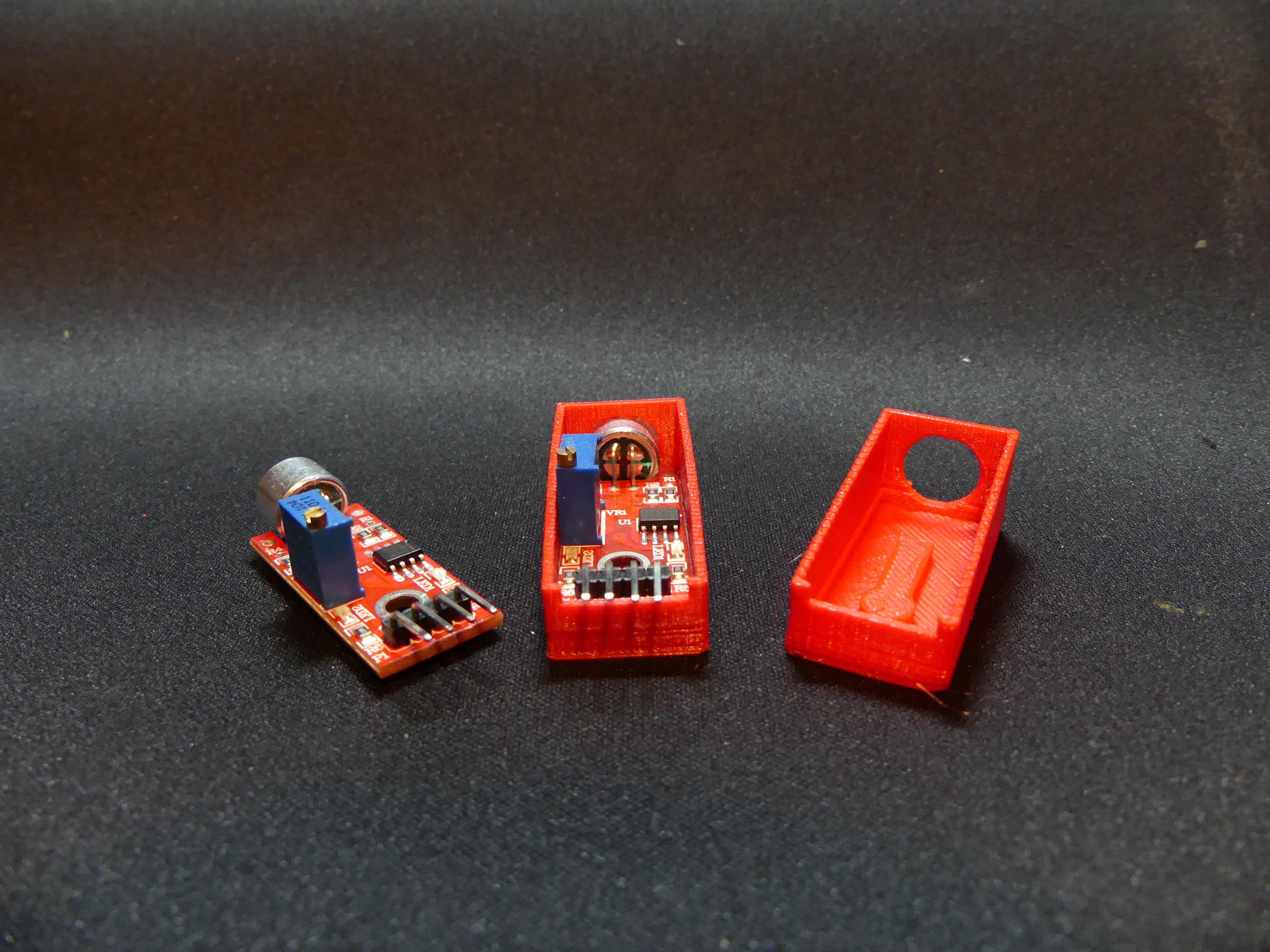 P1140350.JPG Download free STL file Arduino Sound Sensor Bracket • 3D printable template, Linventif
