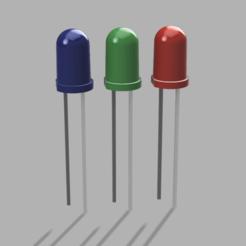 Télécharger modèle 3D gratuit model réaliste d'une diode ± 0,01mm, Linventif