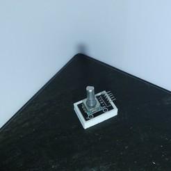 P1130500.JPG Descargar archivo STL gratis Soporte para el potenciómetro Arduino • Modelo imprimible en 3D, Linventif