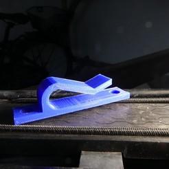 Download free 3D printer model Bicycle hanger, linventif