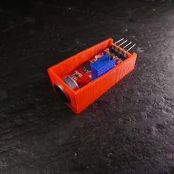 Télécharger fichier STL gratuit Support Pour Capteur Son Arduino • Plan pour imprimante 3D, Linventif
