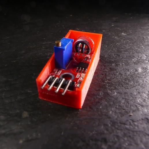 P1120676.JPG Download free STL file Arduino Sound Sensor Bracket • 3D printable template, Linventif