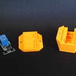 P1140113.JPG Download free STL file Housing for an insulating arduino relay • 3D printable design, Linventif