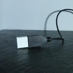 Descargar archivos 3D gratis Protector de USB macho, Linventif