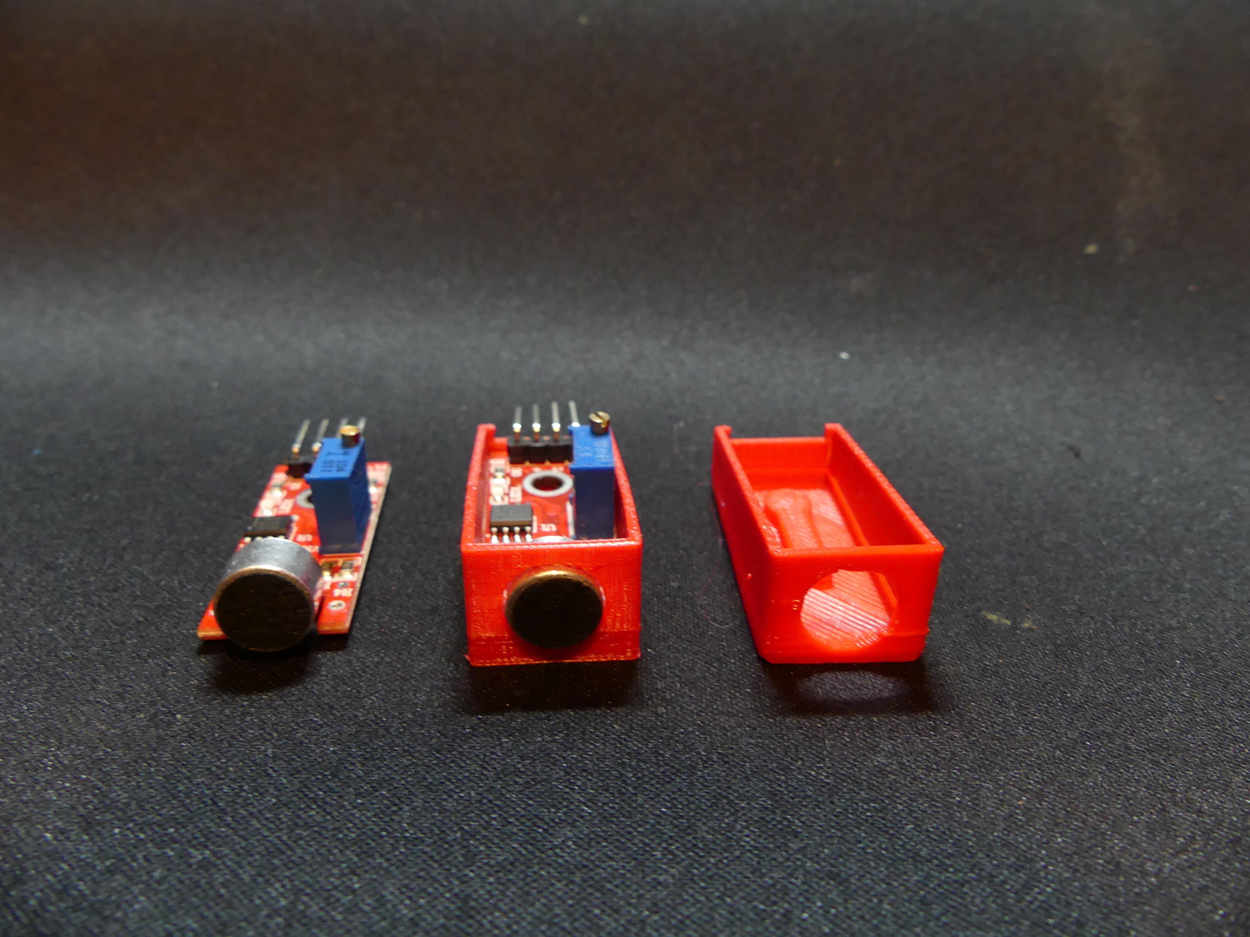 P1140356.JPG Download free STL file Arduino Sound Sensor Bracket • 3D printable template, Linventif