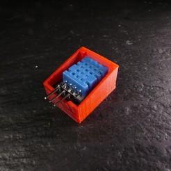 Descargar STL gratis Porta Sensores de Humedad Arduino, linventif