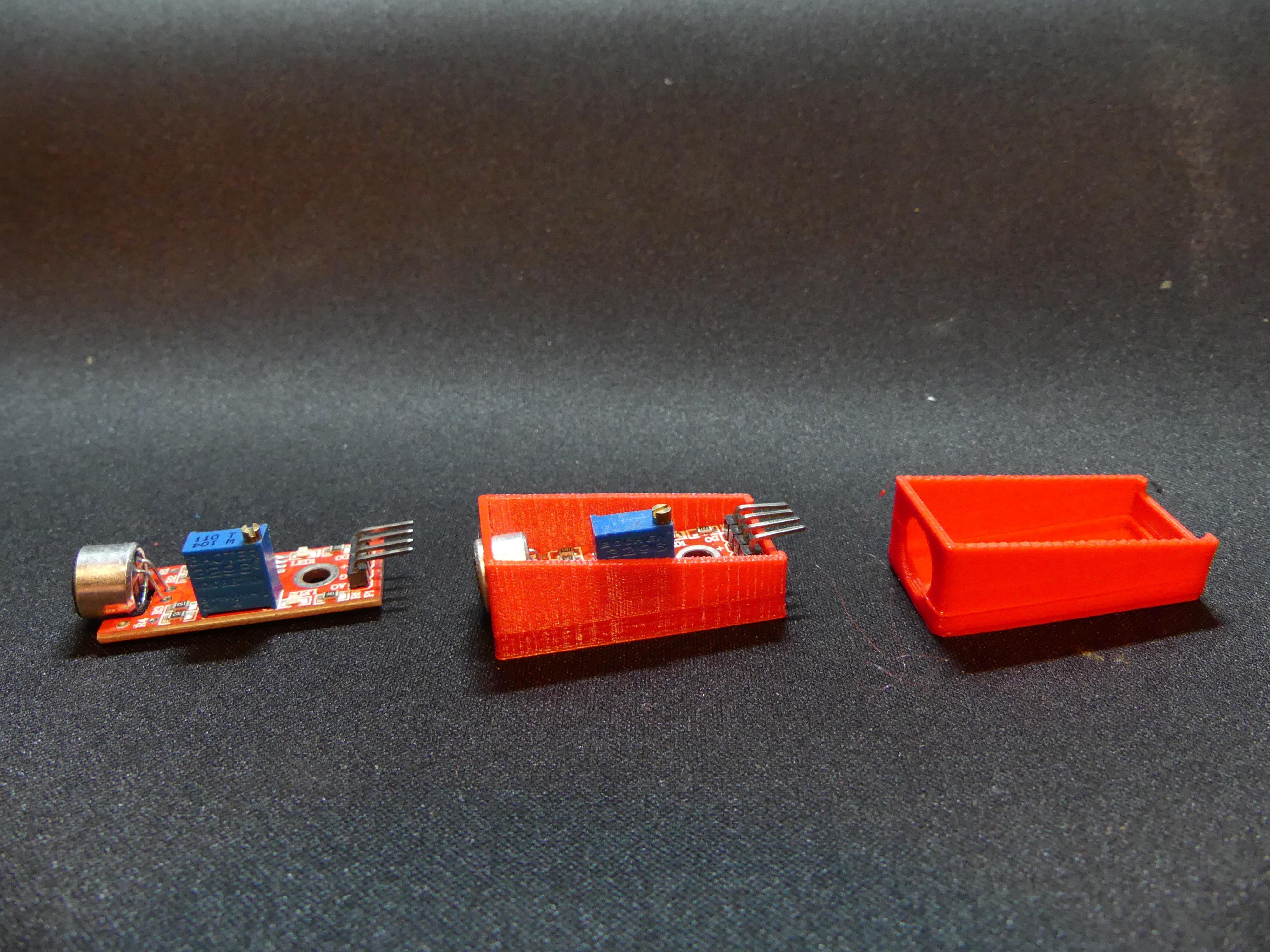 P1140353.JPG Download free STL file Arduino Sound Sensor Bracket • 3D printable template, Linventif