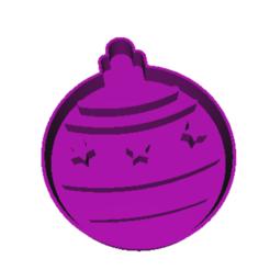 Modelos 3D para imprimir Llévate la pelota de Navidad, dj_fun_star