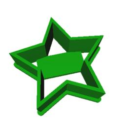 STL Star coin cutter, dj_fun_star