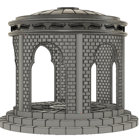 3D printer files Kiosk 28mm Designed for Star Wars Legion, ankoburamestudio