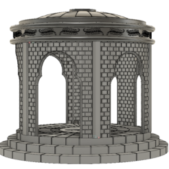 Plan imprimante 3D Kiosque 28mm Designed for Star Wars Legion, ankoburamestudio
