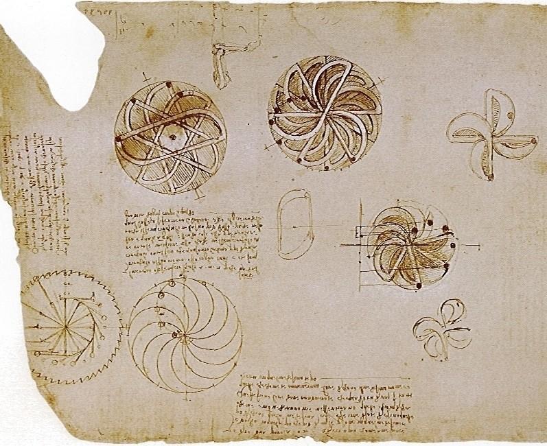 Da_Vinci_sketches_display_large.jpg Télécharger fichier STL gratuit Le mouvement perpétuel, Léonard de Vinci • Plan pour impression 3D, Jeypera3D