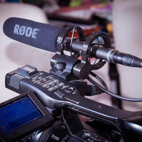 Télécharger STL gratuit Support d'amortisseur pour microphone pour caméra, Jeypera3D