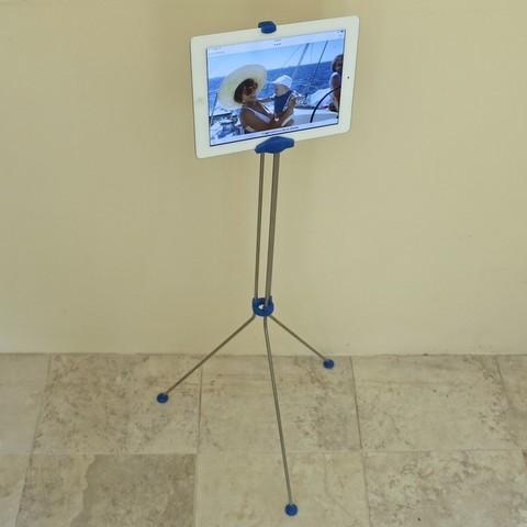 Download free 3D printer files iPad floor stand, Jeypera3D