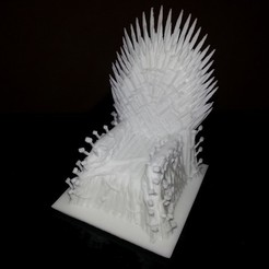 2013-10-01_00.01.37_display_large.jpg Download free STL file Iron Throne • Model to 3D print, Jeypera3D