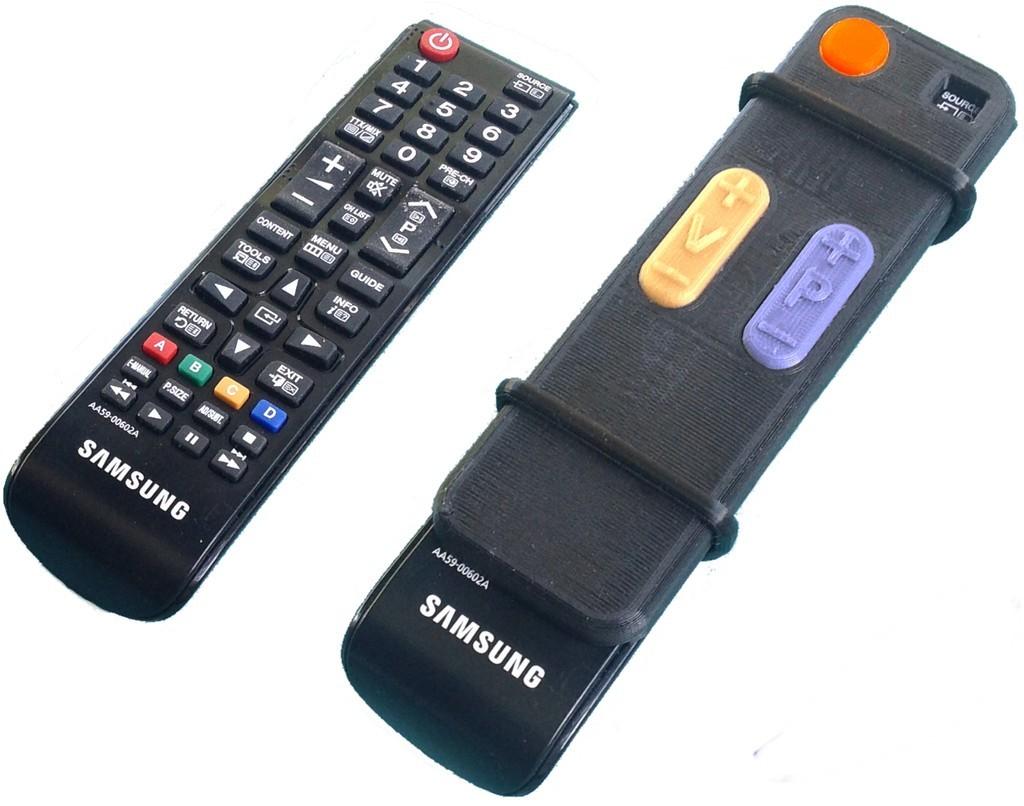 Easy_Remote_display_large.jpg Télécharger fichier STL gratuit Adaptateur de télévision à distance pour les personnes âgées • Plan pour imprimante 3D, Jeypera3D