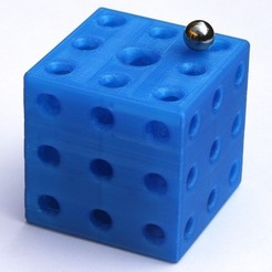 IMG_0227_display_large.jpg Download free STL file Puzzling Cube • 3D printing model, Jeypera3D